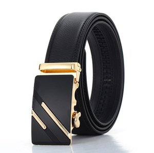 Hot Men's Leather Belt Fashion Automatic Buckle Strap for Business Luxury casual s Waist Strap Belt Waistband 12 styles