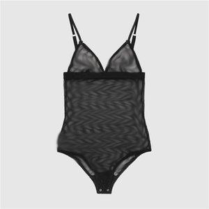 Lüks Nakış Iç Çamaşırı Seksi Marka Dantel Gecelik Kadın Yumuşak Ince Lingerie Mektuplar Tasarımcı Bodysuit Yüksek Kalite Siyam Toptan