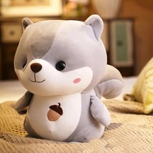 Cute handsome Squirrel Plush toys lovely squirrel dolls Furnishing articles birthday present Children's day gift