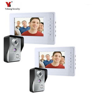 Yobang Security Security 7 pollici Videocamera Wired Video Bell System Video Intercom Equipaggiamento Home Security Intercom Camera1