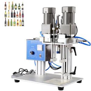 Máquina de tapas semiautomáticas, Máquina de tapón de tapa de bomba, Botella de cosmética, Botella de bebidas, Botella de vino, Máquina de Capping de Botella de Medicina