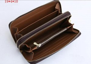 Handy Double zipper Card Pocket Wallet Pouch Zippy Coin Holder With Classic Men Coin Fashion Holders Credit Slim Bank Women Purse M41231