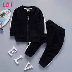 LZH Ropa infantil 2020 Nuevo Otoño Invierno Casual Baby Girls Traje para bebés Ropa de ropa Chaqueta Pantalones Setfits Set Ropa para niños LJ201221