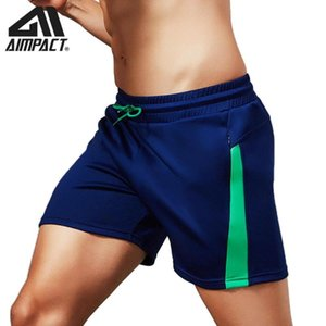 Aimpact Costume homme Shorts pour homme sport course Workout Gym Training Shorts Sport Beachwear Trunks AM2208