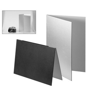 Photography Reflector Collapsible Cardboard White Black Silver Reflective Paper Soft Board Photography Props For Photo Shooting