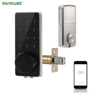 Блокировка Bluetooth Deadbolt Дверной замок Цифровая Электронная Электронная Бесплатная Клавиатура Cound Клавиатура Smart Home Легкая замена Gateway G21