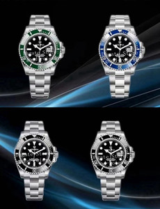 41mm Men's Blue Black Green Automatic Cal.3235 Eta Watch 126610 Cerachrom Ceramic Bezel Dive 126619 Men Waterproof 904L Steel EW Top Watches