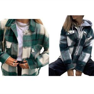 Women plus size Jackets fall winter clothes sexy club coat warm sweatshirt lapel neck cardigan long sleeve jacket button outerwear 0720
