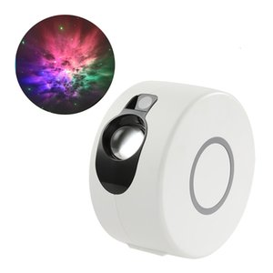 News Star Galaxy Starry Sky LED Projector Rotating Night Light Colorful Nebula Cloud Bedroom Beside Lamp Remote Control