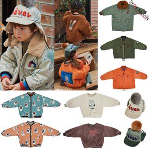 Kids Winter Jacket Lim Brand New Autumn Boys Girls Cartoon Print Velvet Coat Baby Child Thick Warm Outwear Fashion Clothes 201118