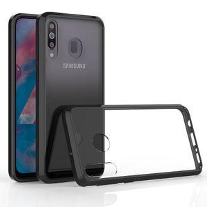 Funda anti-scratch transparente de acrílico transparente para Samsung Galaxy M30S M30 M50 M20 M10 A10S A20S A10E A20E Funda a prueba de golpes