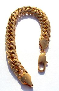 18kt Yellow Nugget 100% Bracelet Not 230mm Hge New Gold Money. Hypotenuse 44g Solid Mens Gold, Not Real Heavy jlllT ffshop2001