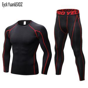Uzun Johns Erkekler Kış Termal Iç Çamaşırı Setleri Erkek Kuru Teknoloji Elastik Thermo Iç Çamaşırı Suits Sıcak Long Johns 201124