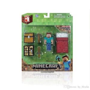 أزهار الألغام بلدي العالم لغز الطوب التجمع رجل minecraft نموذج غاضب له اللبنات minifig لعب للأطفال عيد الميلاد الصبي الهدايا