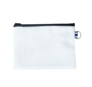 10pcs 14*18cm canvas cosmetic bags DIY women blank plain zipper makeup bag phone clutch bag Gift organizer cases
