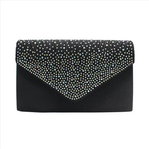 Local Stock New Blingbling Evening Bag Purse Women Clutch Handbag Lace Envelope Clutch Bag Party Wedding