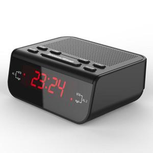 Fantastic LED FM Radio Digital Alarm Clock with sleep timer snooze fuction Compact Digital Modern Design