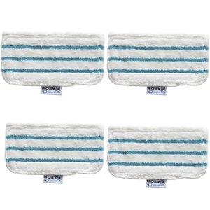 MOP Tuch Reinigungstuch MOP Lange Lappenbodenwaschbare Ersatzreiniger Dampf-Mopp-Pads für Schwarz- und Decker-Reinigungsmittel T200612
