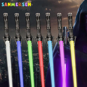 Lightsaber For Children Boys Girls Scalable Laser Sword Toy Telescopic Led Flashing Lightstick Simulated Sound Light Saber Toys bbyauN