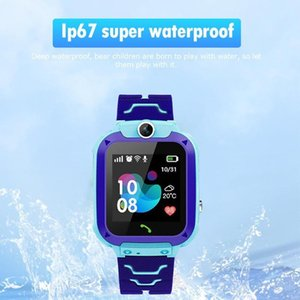 9 Languages Q12 Children Smart Watch Waterproof 1.44 Inch Student Smart Watch Dial Call Voice Chat Tracker Lost Monitor wmtEUY hx_pack
