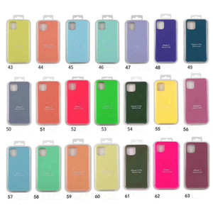 HOT High Qulity Silicone Case for iPhone12 pro max  12 mini   12pro 11pro  11 pro max 11 Optional With Retail Package