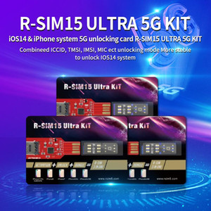 Brand new for iOS14 system unlock card RSIM 15 Ultra for All iPhone AUTO-Unlocking RSIM15Ultra 4G LTE IOS14