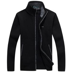 2020 New Sweater Men Park Autumn Winter SweaterCoats Eden Male Thick Mens Sweater Jackets Casual Zipper Knitwear Size M-3XL J1204