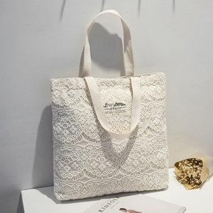 2020 summer and autumn new Korean street fashion solid color lace bucket bag one shoulder portable lady bag