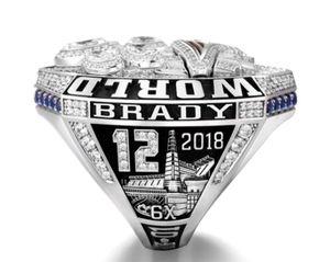 New Arrival Size 6-15 2018 2019 season Patriot Championship ring