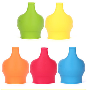 Silicone Sippy lid Suitable for adults and children cup lid Tumbler Glasses Egg cup lid Home cup decoration DHE4633
