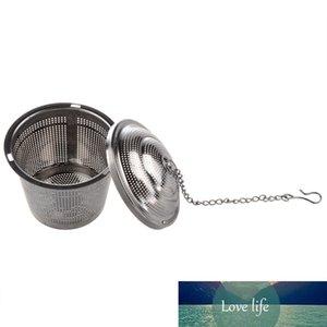 TFBC-práctico Tea Ball Strainer Mess Infuser Filter Acero Inoxidable Nuevo