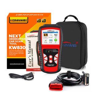 KONNWEI KW830 OBD2 Scanner Automotivo para Diagnóstico de Carro Universal Auto Fault Code Reader Odb2 Car Scanner Diagnóstico