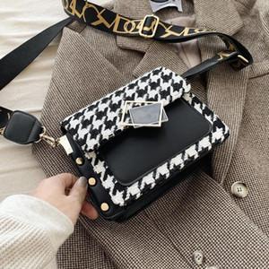 Toposhine Houndstooth Crossbody Bags per le donne 2020 Brand Designer Piccola Simple Moda Borsa a tracolla Lady Borse di lusso