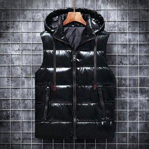 Commercio all'ingrosso industry inverno nuovo uomo casual gilet addensato più velluto riscaldamento in cotone gilet in cotone gilet da uomo gilet da uomo
