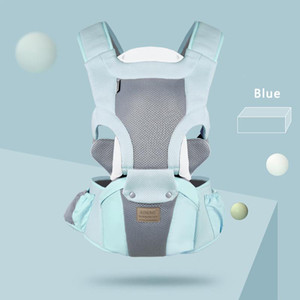 Ergonomic Baby Carrier Infant Baby Facing Kangaroo Wrap Sling for newborn Travel 0-48 Months Breathable Hipseat slings