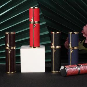 Parfümsprayflasche Sub-Abfüllung Mode Luxus Leder Parfüm-Flaschen Sub-Abfüllfahrt Tragbare Probe Leere Flasche Sea DDC5085