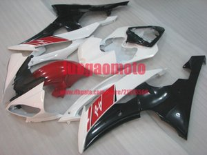 Bodywork white black red YZF R6 2008 2009 2010 2011 2012 2013 2014 2015 2016 Injection Plastic ABS Fairings Kit For Yamaha YZF-R6 body kits