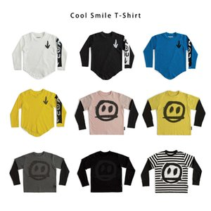 Nu 2020 Boys Clothes T Shirts Girls Kids T- Shirt Graphic T- Shirts Toddler Fall Children Long Sleeve Tees Tops