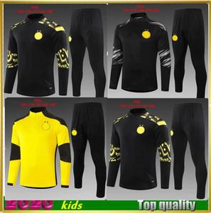 19 20 new kids jacket kits 2019 2020 boys Football shirts Child long sleeve soccer Training suit4000