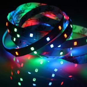 RGB Led Strip 12 V Light Tape 2835 Waterproof 1 - 5 M 60LED M RGB Strip 12V Tape Diode Led Lamp Neon Flexible TV Backlight