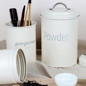 Steel Jar Kitchen Utensils Multifunction Box Sealed Cans Coffee Powder Cans storage jar