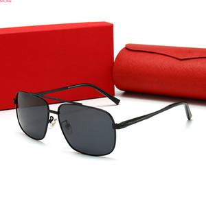 2107 2020 lunettes de soleil rétro vintage pour unisexe lunettes en corne de buffle lentilles claires cerclées lunettes de soleil de luxe des femmes des lunettes avec hots