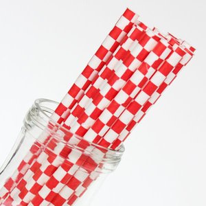 Cheap Price Wedding Decoration Biodegradable Pink And Gold Striped Paper Straws