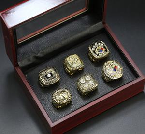 2020 Оптовая продажа 1974 1975 1978 1979 2005 2008 Championship Ring Rings Set Superbowl Fashion Champion Ring Вентилятор подарок оптом падение доставки
