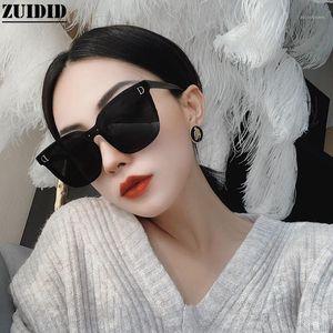 Солнцезащитные очки онлайн знаменитость большая коробка женская мода черные буквы очки старинные кошки черенца deol mujer trend gafas1