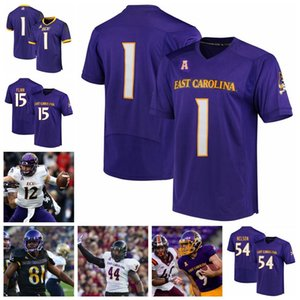 Ecu East Carolina Pirates College Football Jerseys NCAA Chris Johnson Jersey Gardner Minsheu II Zay Jones Darius Pinnix Jr. Benutzerdefinierte Nähte