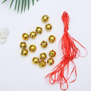 21Pcs Five-point Star Christmas Bells Mini Creative Shiny Rattle Bells Handmade Small Christmas Jingle Bell (20pcs 3cm Golden Be