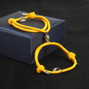 الجملة جذب الأزواج أساور متعدد الألوان سلسلة مغناطيس لمسافات طويلة الحب المجوهرات توفير بالطلب الألوان سوار
