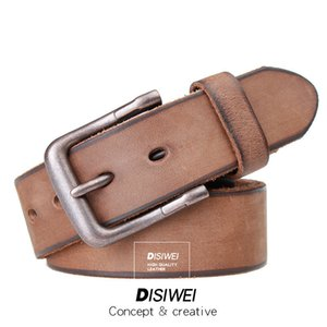 New Wide Leather Waistbands Strap Belt high quality Women Square Pin Metal Buckle belts Girdles Cinto Woman Belts for Jeans