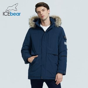 ICEbear men's winter jacket thick and warm men's cotton coat High quality male clothing hooded Parkas MWD19805I 201120